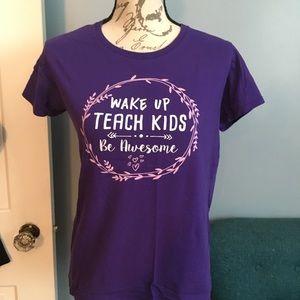 Teacher Shirt sz M